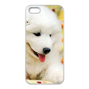 wugdiy DIY Case Cover for iPhone 5,5S with Customized Cute puppy