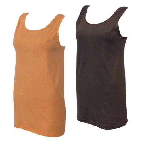 Lavazio - Chaleco - para mujer Braun/Orange