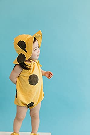 Vaenait Baby Newborn Infant Baby Girls Sleeveless Bodysuit with Hat Beebee