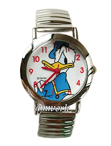 Disney Donald Duck Watch- Bracelet Elastic link -