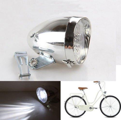 - CISUNG Chrome 3 LED Bicycle Bike Visor Bullet Headlamp Headlight Front/Tail Light New