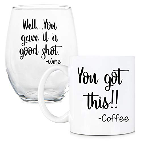 This Gave Coffee Stemless Glass product image