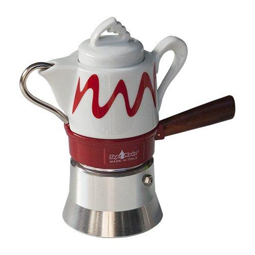 Top Moka - Juego de taza para cafetera (1 unidad): Amazon.es ...