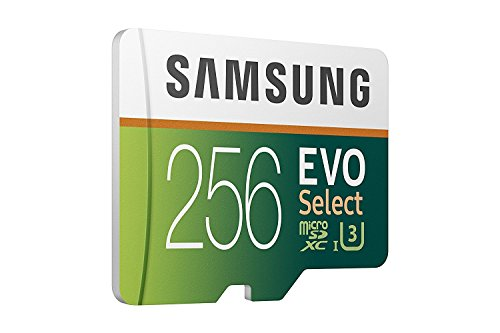 Samsung 256GB 95MB/s MicroSDXC EVO Select Memory Card with Adapter (MB-ME256DA/AM)