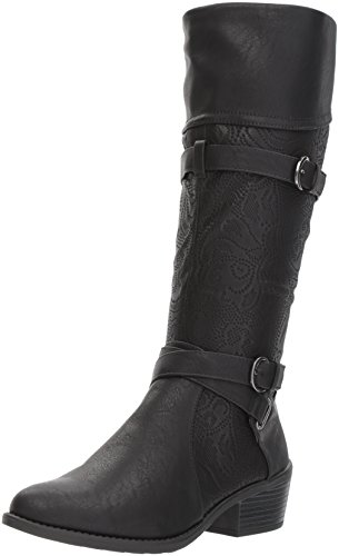 Embossed Leather Boot - 2