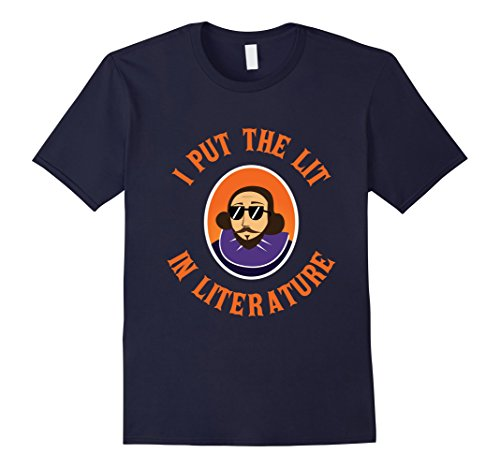 Men's FUNNY I PUT THE LIT IN LITERATURE - English Teacher Gifts