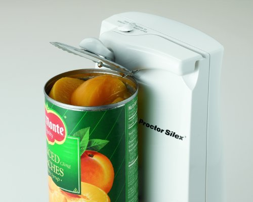 Proctor Silex Plus 76370P Extra-Tall Can Opener, White