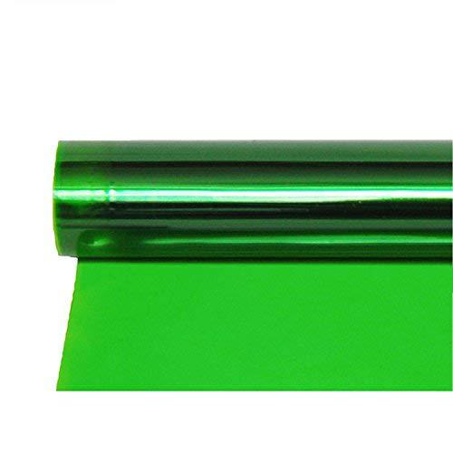 Green Gel Filter Sheet - Meking 16x20 Inch Green Gels Color Filter Paper Correction Gel Lighting Filter for Photo Studio Light Red Head Light Strobe Flashlight - Green