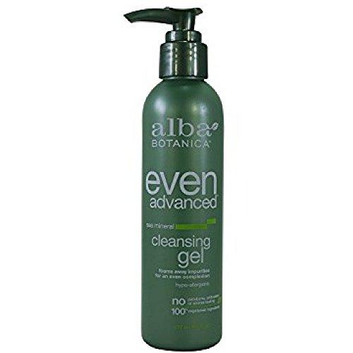 6 Oz Refreshing Gel Cleanser - Alba Botanica Sea Mineral Facial Cleansing Gel, 6 Ounce - 6 per case.