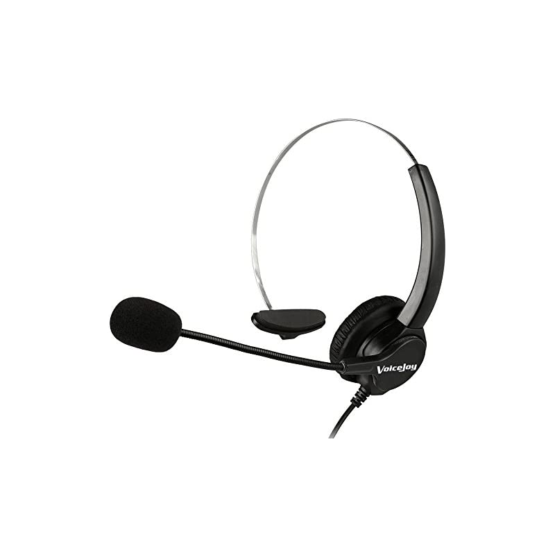 Office Headset with RJ9 Plug FOR CISCO I