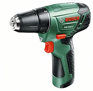 Bosch 0603954200 – Kit de Perceuse-visseuse sans fil PSR 10,8 LI