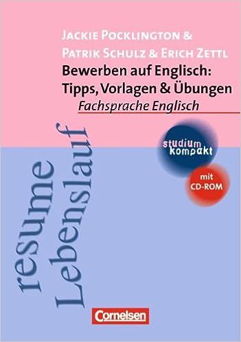 Studium Kompakt Fachsprache Englisch Bewerben Auf Englisch Tipps