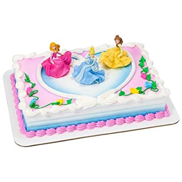 Amazoncom Disney Princess Cake Kit Grocery Gourmet Food
