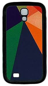 Samsung S4 Case Patterns Shapes 2 TPU Custom Samsung S4 Case Cover Black