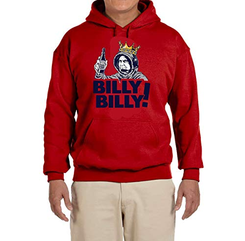 Tobin Clothing RED England Billy Billy Hooded Sweatshirt Adult ()