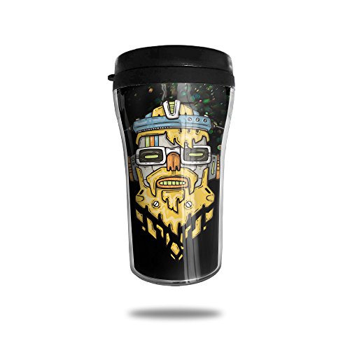 Music Robo Wall Insulated Coffee Mug For Hot Or Cold (Party City Columbus Oh)