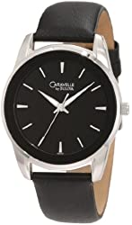 Caravelle by Bulova Men's 43A101 Leather strap Watch