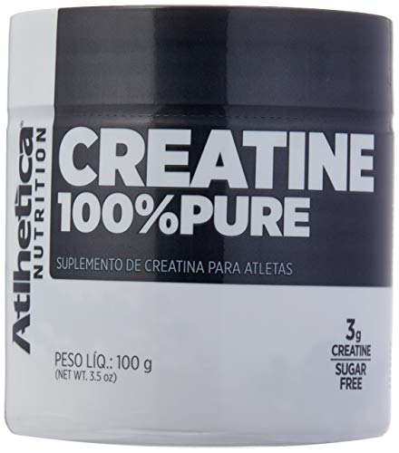 Creatine 100% Pure Pro Series - 100g Natural - Atlhetica Nutrition, Athletica Nutrition