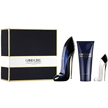 Carolina Herrera - Good Girl eau de parfum 50 ml spray + 75 ml perfumed body  lotion + miniature eau de parfum.  Amazon.co.uk  Beauty 9d017edd40