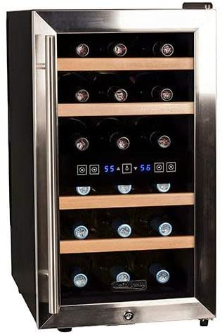Koldfront-TWR187ESS-18-Bottle-Free-Standing-Dual-Zone-Wine-Cooler