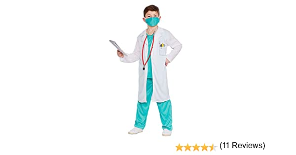 Hospital Doctor - Unisex Kids Costume 3 - 4 years
