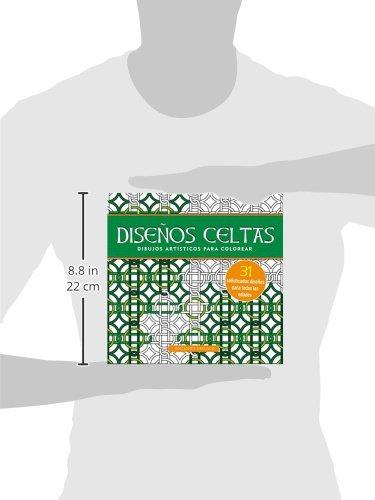 Disenos celtas. Cuaderno para colorear (Spanish Edition): Peter ...
