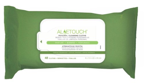 ALOETOUCH WIPES SCENTED 48 PK