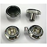 Ecklers Premier Quality Products 50361136 Chevelle Radio Knob Set For Cars With Mono Radio