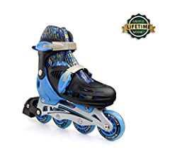Help Your Little Ones Unleash Their Inner Skating Champion with the Best Pair of Roller Skates by New Bounce! Are you looking for cool-looking and fully adjustable roller skate shoes for your little ones? Do you want to surprise your kids wit...