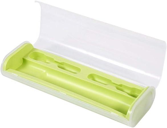 Milopon Estuche para cepillos de Dientes, Caja para Guardar los cepillos de Dientes, para Viajes, Verde, 21.5cm*8.0cm*4.5cm: Amazon.es: Hogar