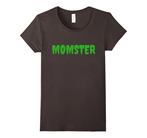 Womens Funny Mom Halloween Costume T-shirt ma mother mommy Small Asphalt - Ma Costumes