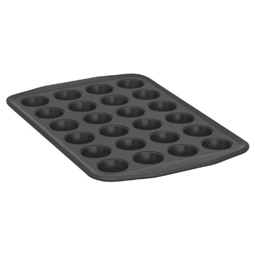 (Baker's Secret 1107170 Signature 24-Cup Muffin Pan, Mini)