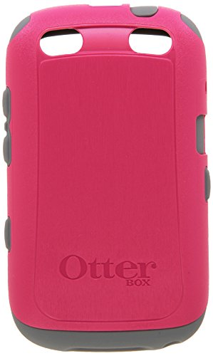 OtterBox Commuter Series Case for BlackBerry Curve 9220/9310/9320 - Retail Packaging - Pink/Gunmetal