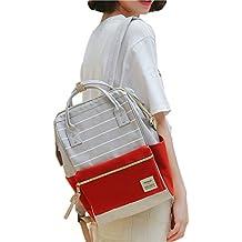 H&N Japan Korea Style Girls Fashion Canvas Backpack School Season Backpack