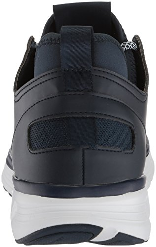 cheap sale popular clearance visit new Armani Exchange Men's Mid Cut Lace up Sneaker Navy clearance for cheap free shipping looking for latest collections online LGtQWHUU