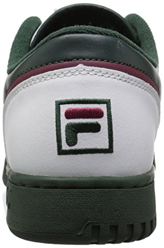 Fila Men's Original Fitness Lea Classic Sneaker White/Sycamore/Black Red buy cheap excellent footlocker pictures for sale cheap sale with mastercard cheap price top quality where to buy 3GYoQVWF