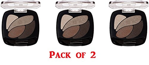 Loreal Paris Color Riche Les Ombres E4 Absolute Taupe Eyeshadow -- 2 per case.