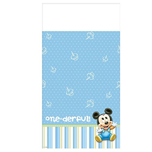 Mickey Mouse 1st Birthday Table (Baby Mickey Mouse 1st Birthday Party Supplies)
