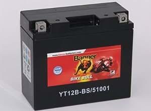Diseño de la moto-Batería YT12B - BS, 51001