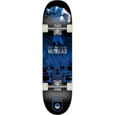 Demented MKBDE7902 Skateboard Mixte Adulte, Warhead Blue