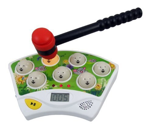 Hammer Game Toy : Whac a mole hammer toy electronic game for kids import