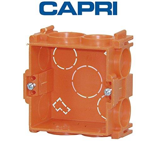 Capri - Boîte d'appareillage carrée à sceller Capribox Prof40