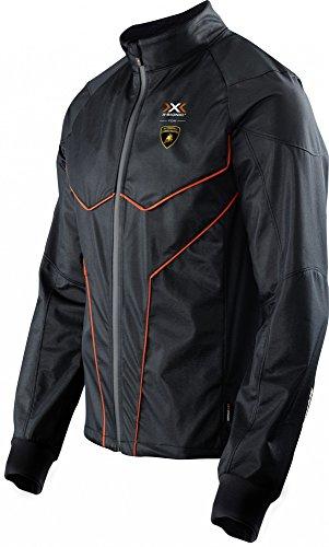 X-Bionic Hombre Lamborghini Running Jacket Men Chaquetas negro