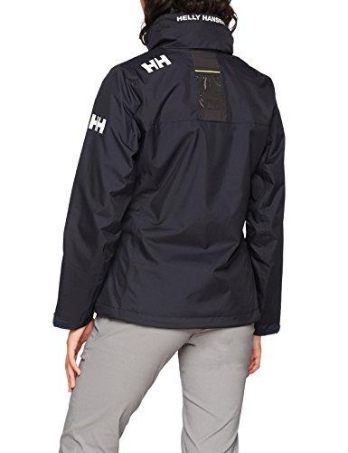 Crew De Veste Jacket Femme Pont W Navy Midlayer Helly Hansen Hooded B0xwEq