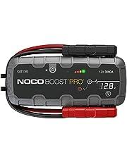 NOCO Boost Plus GB150 UltraSafe 3000A 12V Arrancador de batería de Litio portátil, Arranque de batería y Cable de Puente para Motores de Gasolina de hasta 9 litros y Motores diésel de hasta 7 litros