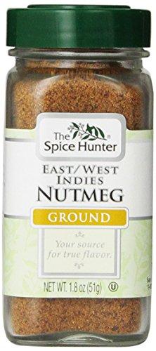 The Spice Hunter Nutmeg, East/West Indies, Ground, 1.8-Ounce Jar