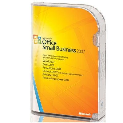 Microsoft Office 2007 Small Business product image