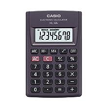 Casio HL-4A - Calculadora (Bolsillo, Calculadora básica, 8 dígitos)