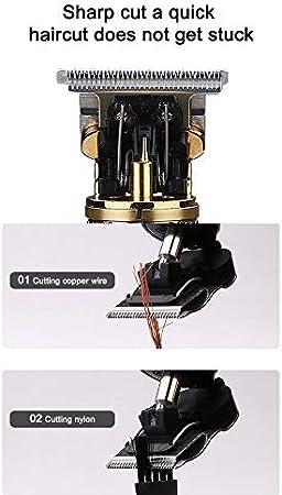 Cotify Electric - Pro Li - Maquinilla eléctrica para cortar el pelo, inalámbrica y recargable, pantalla LCD, recortadora de pelo, ideal para contornos, maquinilla para cortar el pelo para hombre