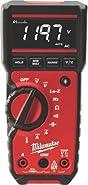 "MILWAUKEE ELECTRIC TOOL 2217-20 Milwaukee Digital Multimeter, 2.48"" x 11.02"" x 7.48"""